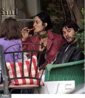 carrie anne moss eating